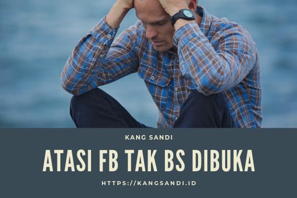 cara memulihkan akun facebook yang tidak bisa dibuka