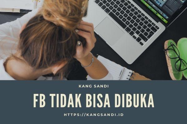 anda tidak dapat menggunakan facebook sekarang