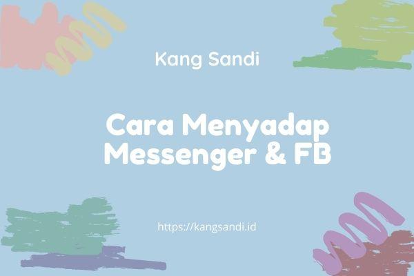 cara menyadap messenger dan fb
