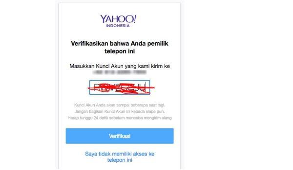 cara mengetahui password email yahoo