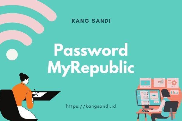 cara ganti password wifi myrepublic